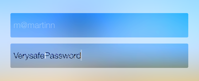 Very safe password