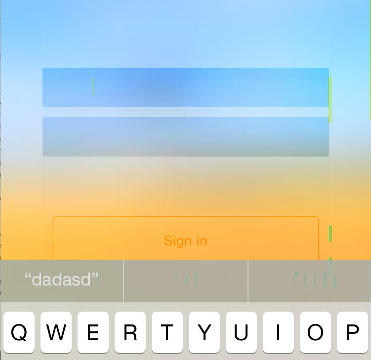 UIVibrancyEffect in iOS simulator causes text to be invisible